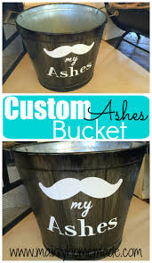 customized ash bucket for the fireplace mainly homemade