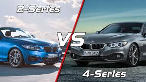 bmw 4 series coupe 2017 bmw 2 series convertible vs bmw 4 series coupé