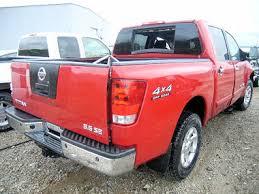 2007 nissan titan se 4x4 crew cab pickup