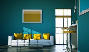 Peinture Jaune Moutarde by Peinture Salon Bleu Vintage U2013 Chaios Com