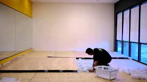 how to build the ultimate spring subfloor for your judo jujitsu