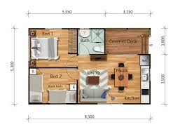 the catamaran 2 bedroom resort park cabin granny flat