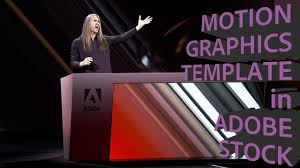 motion graphics template in adobe stock adobe creative station