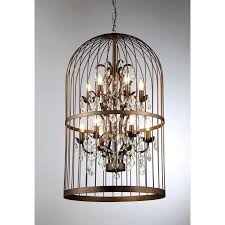 How To Make A Birdcage Chandelier Chandelier In A Cage Eimat Co