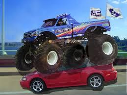 bigfoot 21 monster truck fun loving monster truck dog by destroyer77 on deviantart