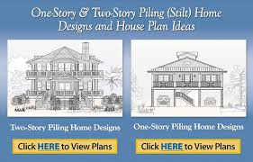 Free Printable House Blueprints Elevated House Plans Home Plans With Pier Foundations House