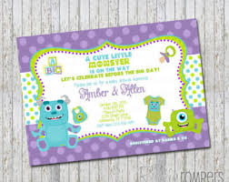 inc baby shower check out monsters inc inspired baby shower invitation on