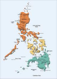 Phillipines Map Travel Destinations
