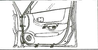 hyundai accent door panel 2002 accent remove the door panel though i removed all screws