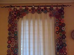 Crochet Valance Curtains 125 Best Crochet Curtains Valance Tie Backs Images On Pinterest