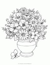 complex flower coloring pages coloring home