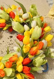 Tulip Wreath Spring Tulip Wreath Hometalk