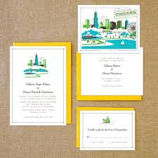 wedding invitations chicago how to incorporate chicago into your wedding day second city