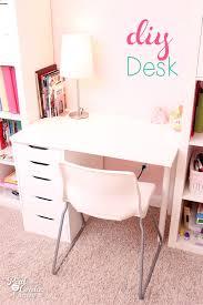 Desks For Small Spaces Ikea Diy Desk For Ikea Expedit Ikea Expedit Desks And Room