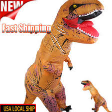 T Rex Costume 2017 Inflatable Dinosaur T Rex Costume Fantasia Halloween