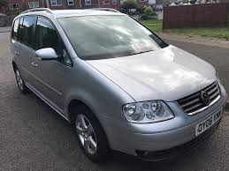 vw touran sport 2 0 tdci 2006 silver 6 speed manual 7 seater