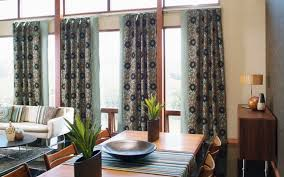 Brown Patterned Curtains 53 Living Rooms With Curtains And Drapes Eclectic Variety
