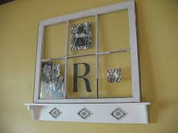 decorating with an old window the robinson u0027s home sweet home