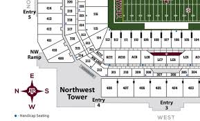 kyle map kyle field section ac11 rateyourseats