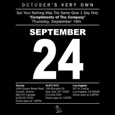 ovo gear and ovo hosting compliments of the company one day pop up shop