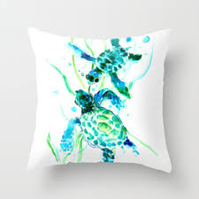 turquoise throw pillows society6