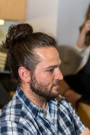 how to do a man bun hair tutorial in 3 different ways