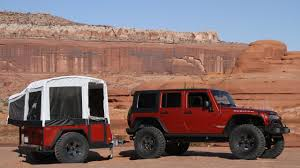 offroad camper jeep reveals first off road camper trailers