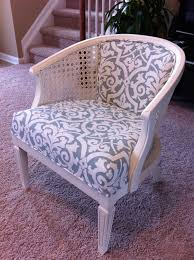 remodelaholic cane chair reupholster diy