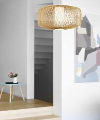 Beacon Lighting Pendant Lights Beacon Lighting Florida 1 Light 580mm Wicker Pendant In