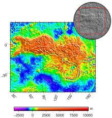 Venus Map Aphrodite Terra Wikipedia