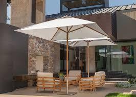 Black And White Striped Patio Umbrella by Designer Collections Santa Barbara Designs