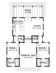 the turtleback cottage house plan 16404 2 design from allison