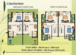 row house floor plan floor plan larica green hamlet pailan kolkata walls home