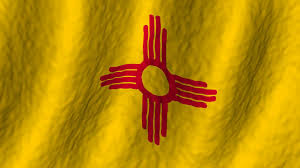 New Mexican Flag New Mexico State Flag Motion Background Videoblocks