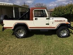 vintage jeep scrambler daily turismo auction watch 1982 jeep scrambler cj8