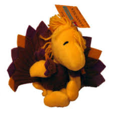 small thanksgiving woodstock stuffed animal 6 in woodstock