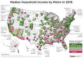 Map Of Cambridge Ma The Highest And Lowest Incomes For America U0027s City Slickers