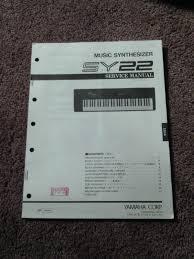 yamaha music synthesizer sy22 service manual schematics parts list