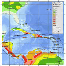 Anguilla Map Historic Caribbean Earthquake Was Felt In Nyc