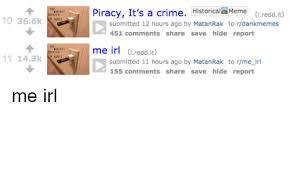 Piracy Meme - 25 best memes about piracy its a crime piracy its a crime memes
