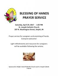 methodist prayer blessings of prayer service cass county calendar