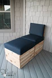 Diy Chaise Lounge Diy Chaise Lounge Diy Modular Outdoor Seating Shanty 2 Chic