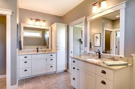 How To Frame A Bathroom Mirror With Crown Molding Granite Mirror Frame Houzz