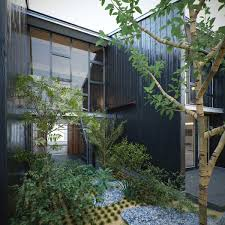 modern zen garden design photograph japanese home mode