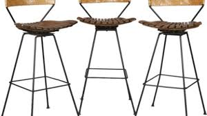 Bar Stool Sets Of 3 Bar Stools Set Of 3 New Reclaimed Wood Industrial Stool For