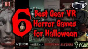 6 best gear vr horror games for halloween youtube