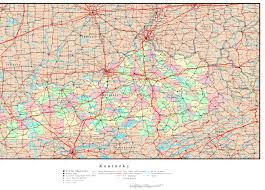 kentucky map best photos of kentucky road map with cities ky road map of