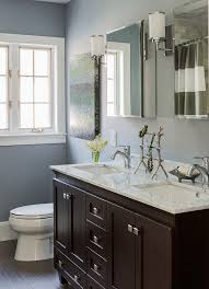Double Vanity Cabinets Bathroom by Double Sink Vanity Bathroom Traditional With Two Sinks Mirrored