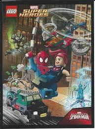 bricklink book 6079399 lego super heroes comic book marvel