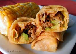 if you love tacos try these easy taco egg rolls a taco rolled up